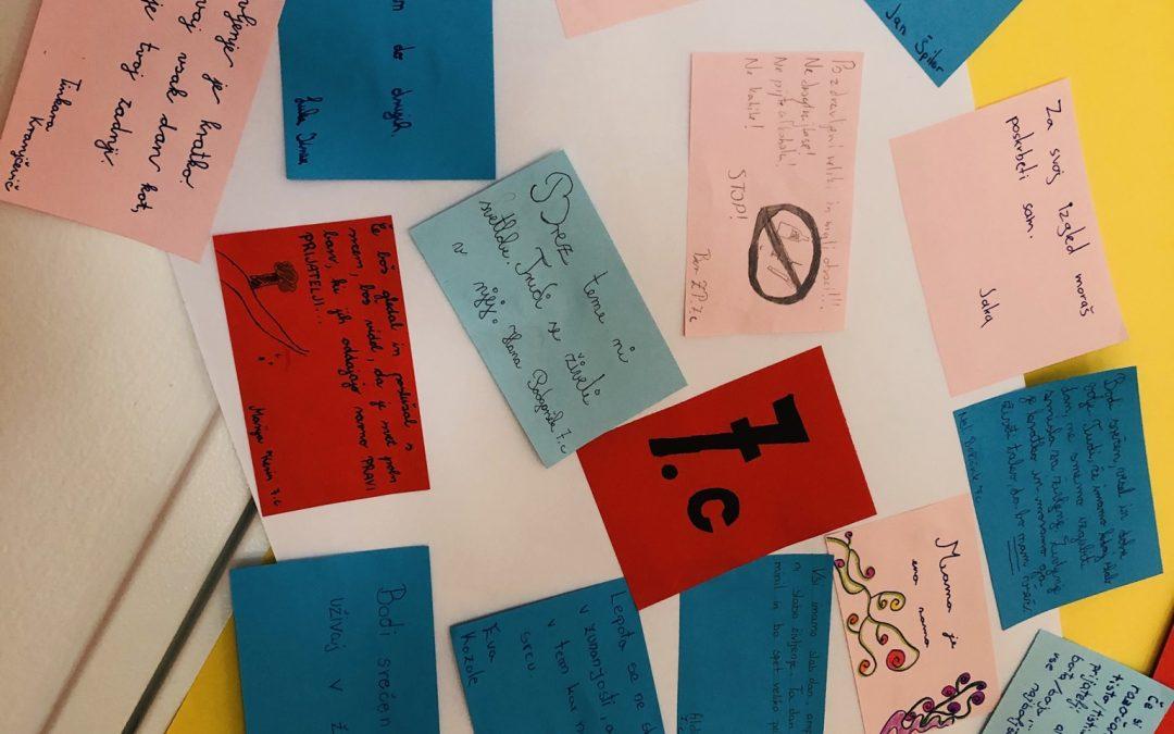 20. 1–24. 1. 2020 – Teden pisanja z roko